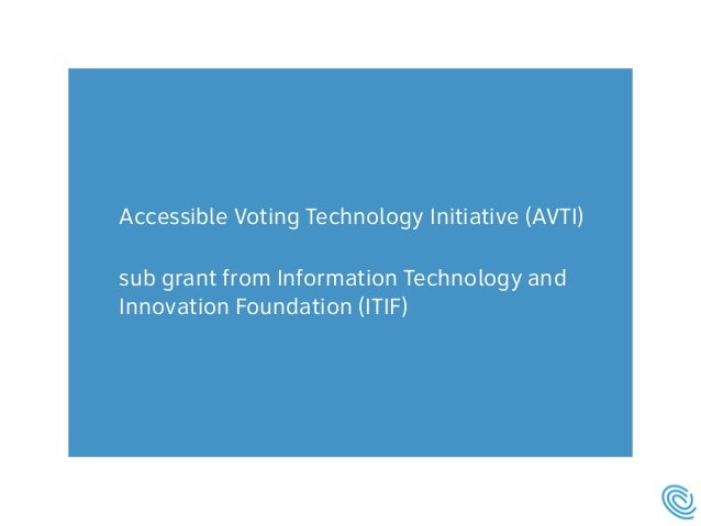 Making Voting Accessible  Slide 3