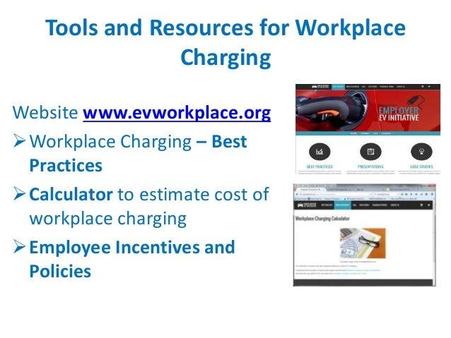 Ev Workplace Charging Webinar 01272015