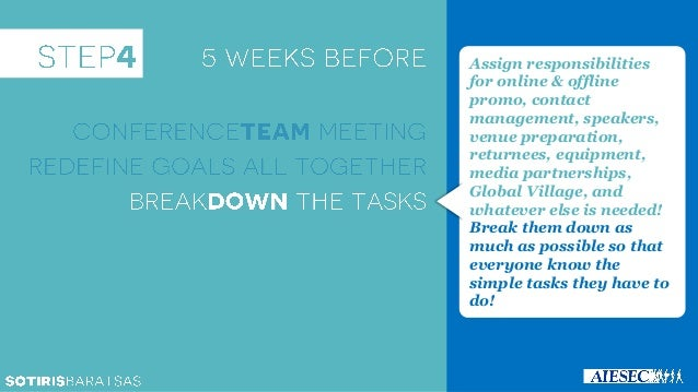 How to organize massive EwA Events [AIESEC Training]