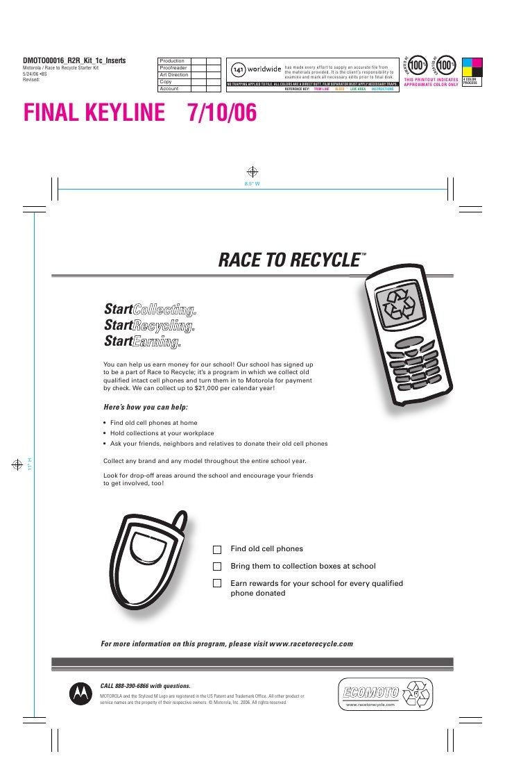 RACE TO RECYCLE                                                                                                           ...