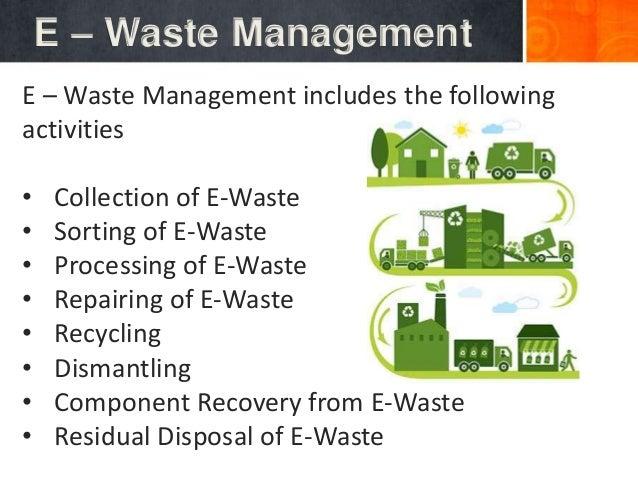 E – waste presentation for project work by Jaitrix Prakash