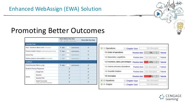 getting started with enhanced webassign 8 11 15 presented by mike la rh slideshare net