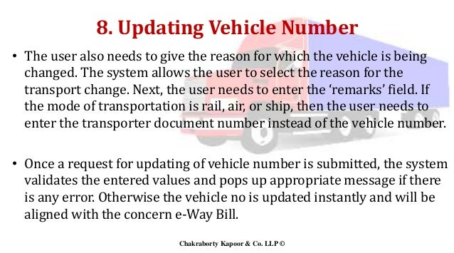 E-Way Bill - GST in India