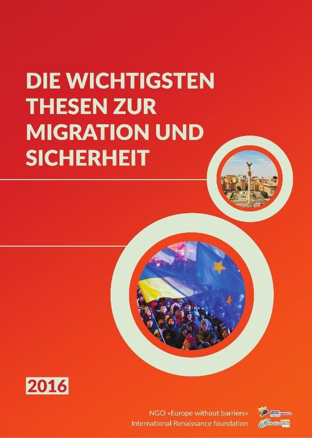 Die Wichtigsten Thesen zur Migration und Sicherheit