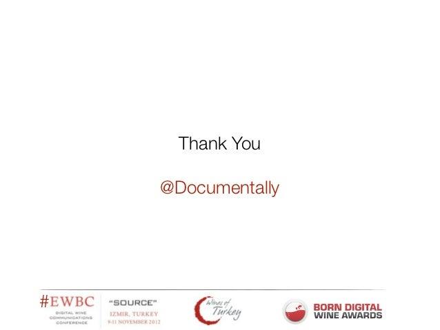 EWBC Keynote from @Documentally