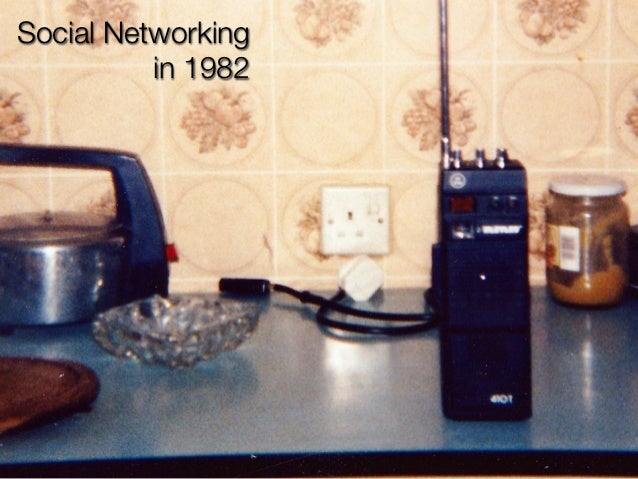 Social Networking          in 1982