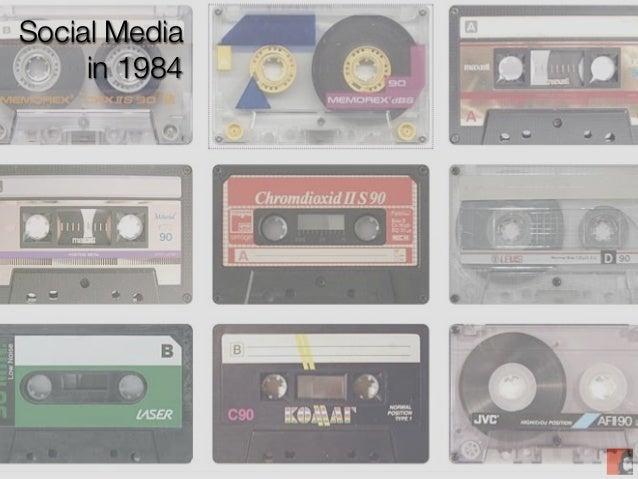 Social Media     in 1984