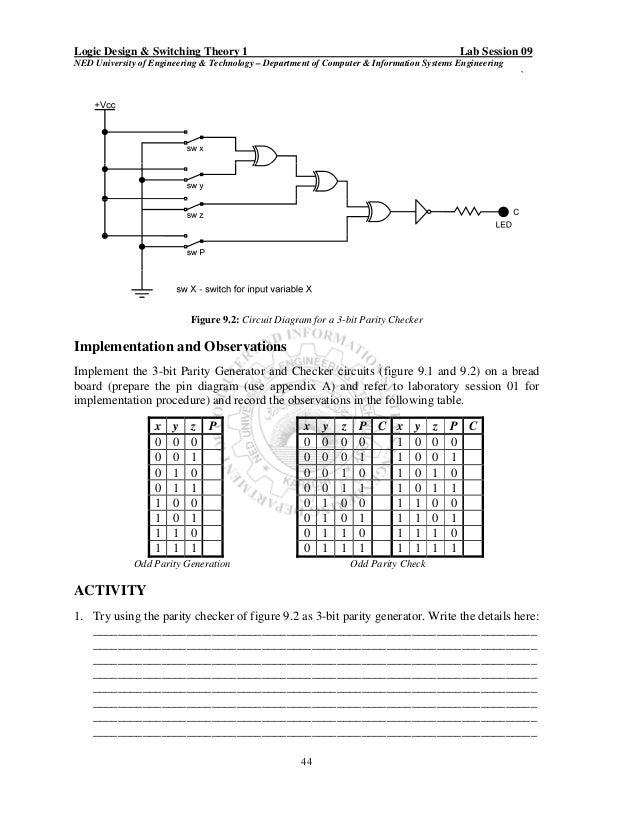 circuit diagram 3 bit parity generator  u2013 powerking co