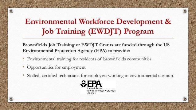 Environmental Technician Training Spring 2018 Slide 2