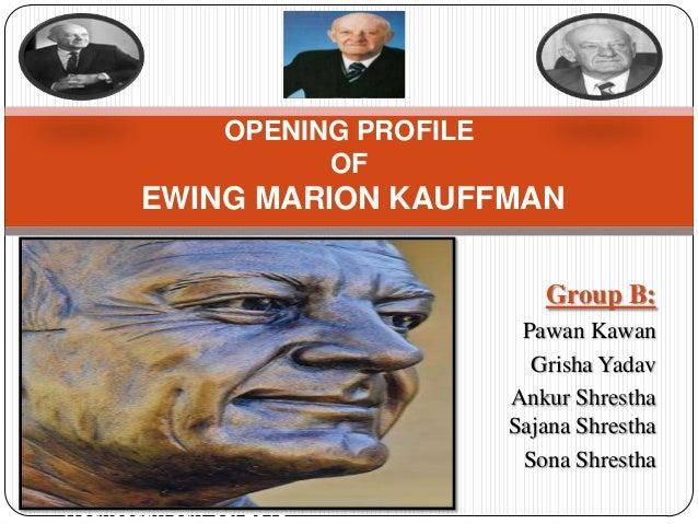 Group B: Pawan Kawan Grisha Yadav Ankur Shrestha Sajana Shrestha Sona Shrestha Wednesday, July 03, 2013 OPENING PROFILE OF...