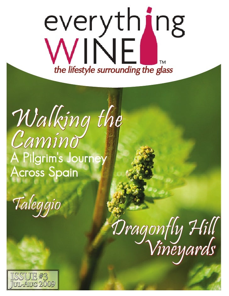 the lifestyle surrounding the glass     Walking the Camino A Pilgrim's Journey Across Spain  Taleggio                     ...