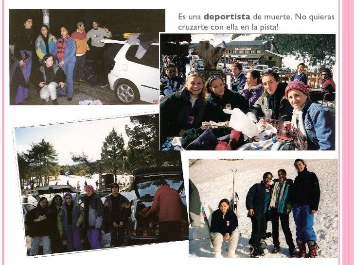 <ul><li>Hasta era muy  buena estudiante.  Aquí en el 1995 Empresariales en ESERP.  </li></ul>