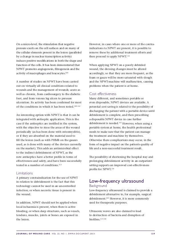 Ewma debridement document_jw_cfinal