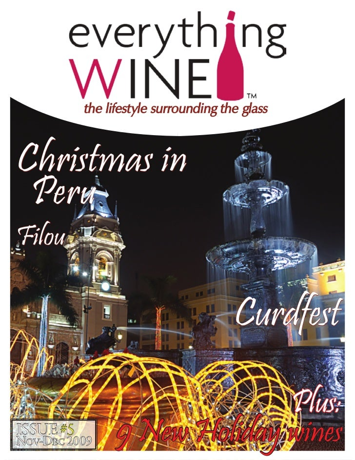 the lifestyle surrounding the glassChristmas in PeruFilou                                       Curdfest                  ...