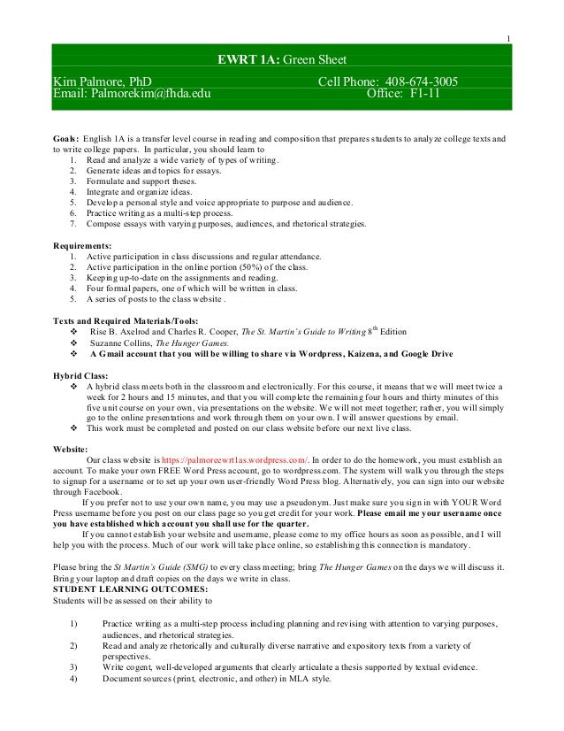 ewrt 1a essay 1 English 1a: composition  interview questions for essay 1 1 interview notes for essay 1 1 outline for essay 1 1 rough draft of essay 1 2 essay 1 10 proposal for.