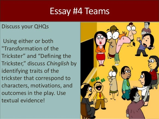 trickster tales essay Fairy tale folktale legend myth trickster words to know 1 digital presence 3 best practices 4 brainstorm today compare & contrast characters in traditional & classical literature a tale that has animal characters that act like humans and contains a moral.