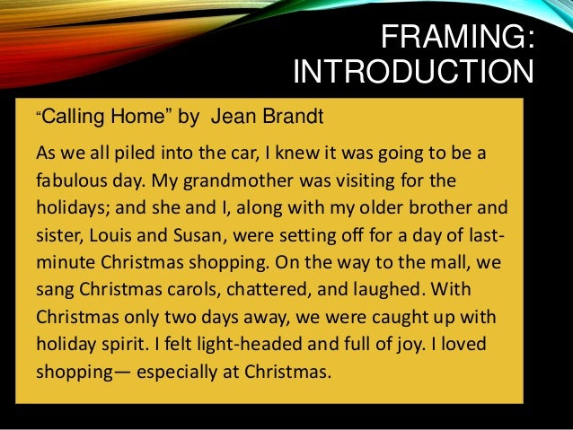 Calling home by jean brandt