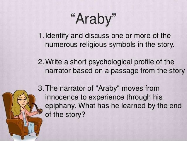 narrator of araby