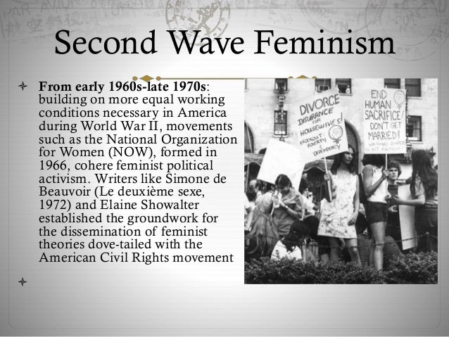 comparison of first and second wave movements essay Compare and contrast first‐wave feminism with second‐wave feminism what distinguishes the goals of each movement and their approaches to organizing.