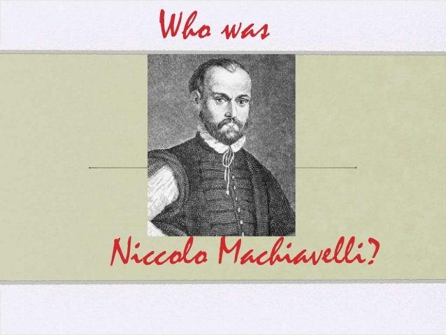 Niccolo machiavelli biography essay