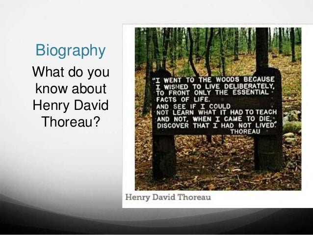 an analysis of the works of henry david thoreau and ralph waldo emerson two transcendentalists Henry david thoreau tests ralph waldo emerson's ideas about nature by living   similar is henry david thoreau is affected by ralph waldo emerson's works  and  secondly, their essays are both inspired from transcendentalism  movement.
