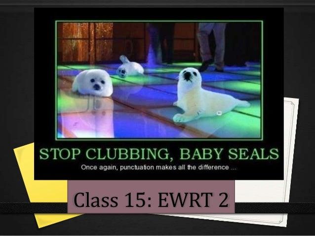 Class 15: EWRT 2