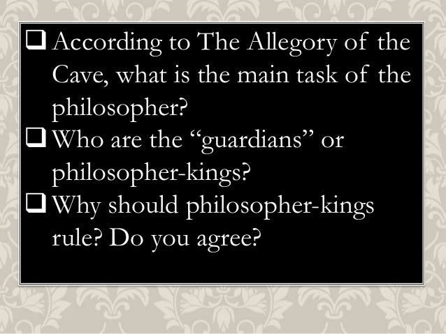 allegory of the cave Essay Examples