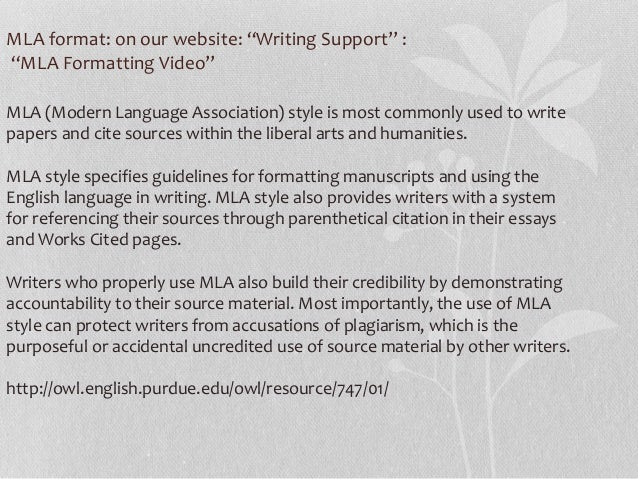 how to cite a website in an essay mla In-text citation vs works cite the information by you do not need to include works that are not cited in the body of your essay as shown in the mla.