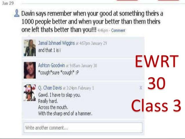 EWRT  30Class 3