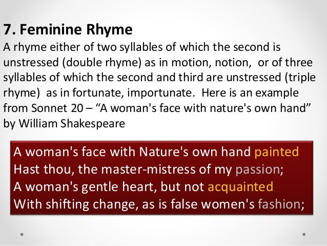 William Shakespeare A Woman S Face With Nature S Own Hand Painted