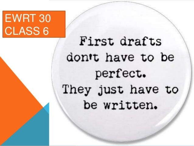 EWRT 30 CLASS 6