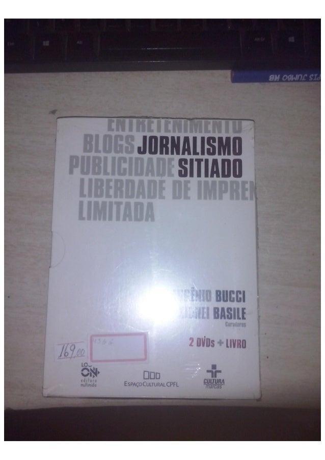 jornalista sitiado comprar - 22-10-2015 - link para comprar: http://www.estantevirtual.com.br/mod_perl/info.cgi?livro=1756...
