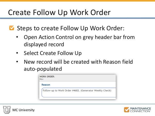 work order generator