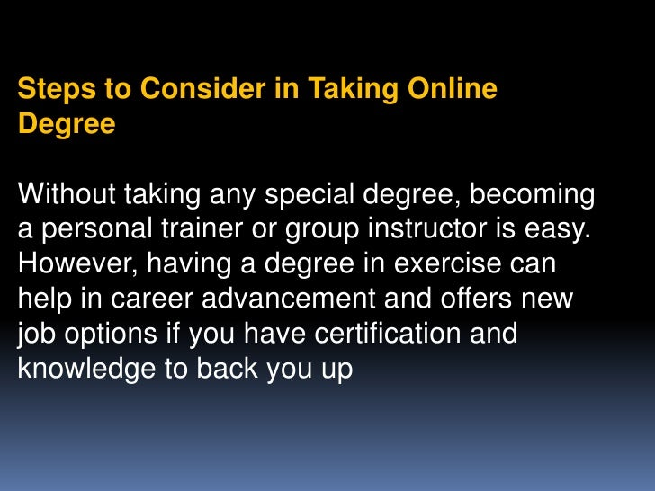 what can i do with an exercise science degree