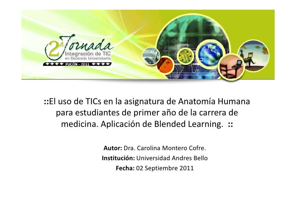Ex 10 el uso de ti_cs en la asignatura de anatom_a humana para estudi…