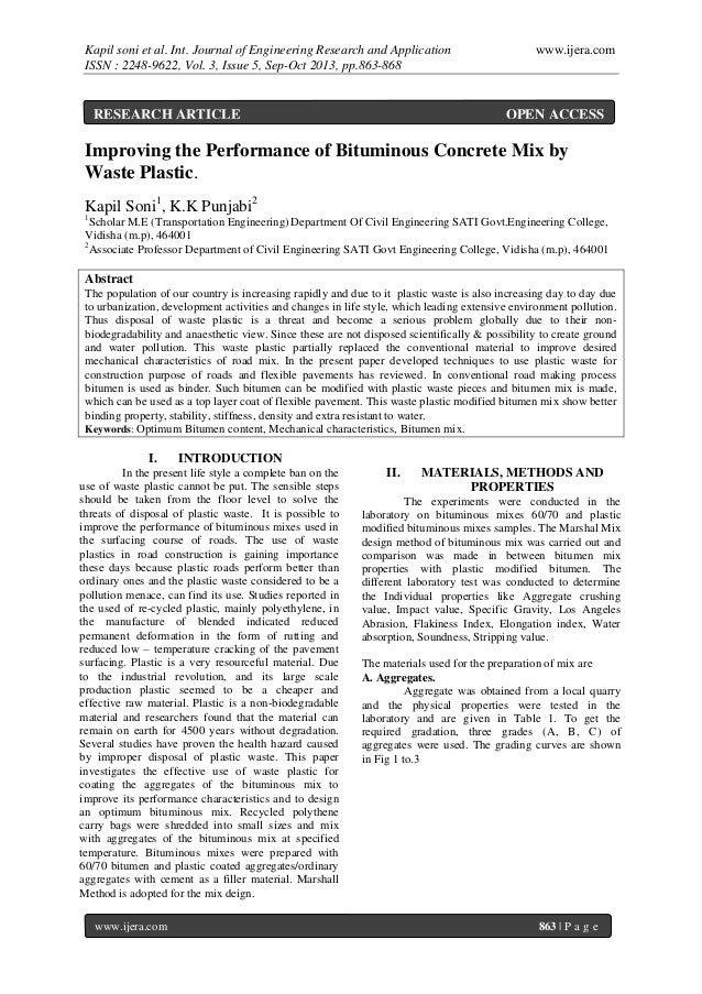 Kapil soni et al. Int. Journal of Engineering Research and Application ISSN : 2248-9622, Vol. 3, Issue 5, Sep-Oct 2013, pp...
