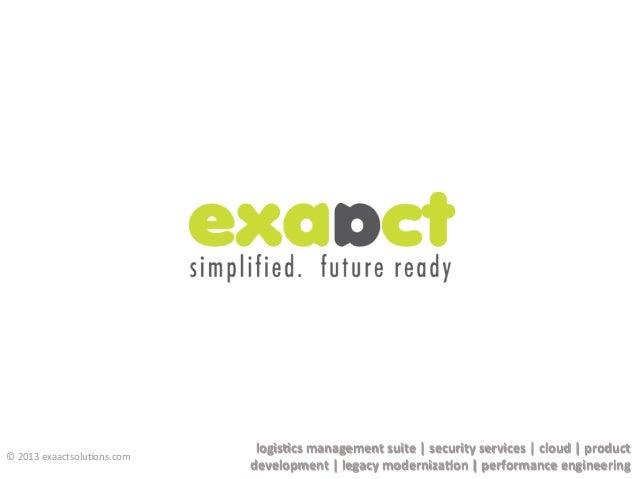 logis&cs  management  suite  |  security  services  |  cloud  |  product   development  |  legacy...