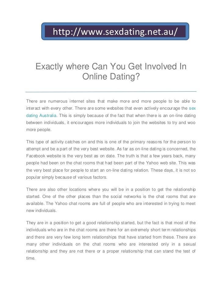 Online dating short-term relationship