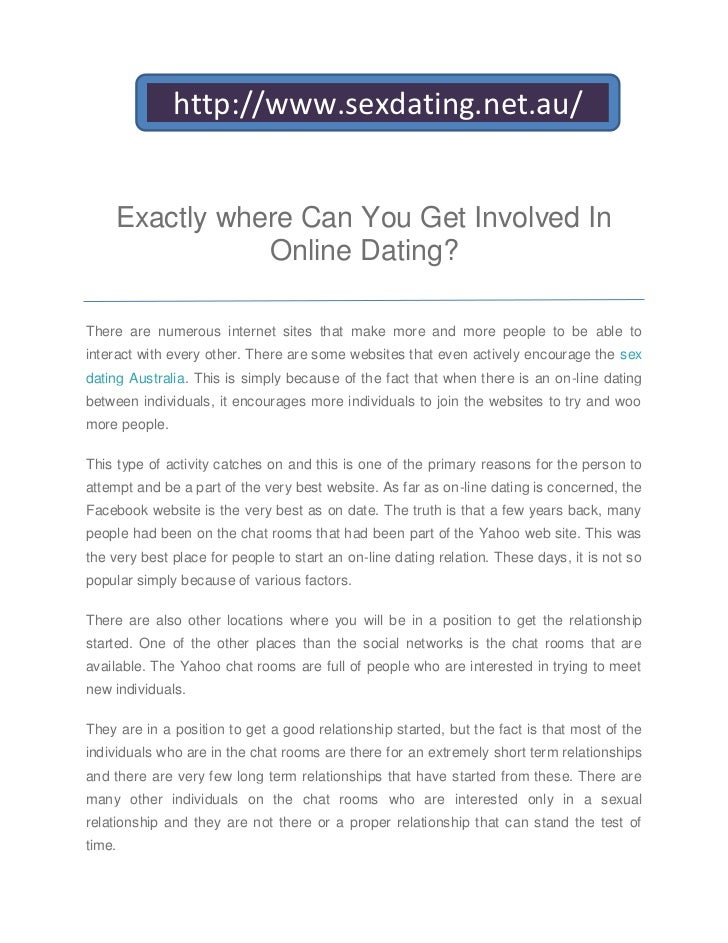 should i try online dating yahoo