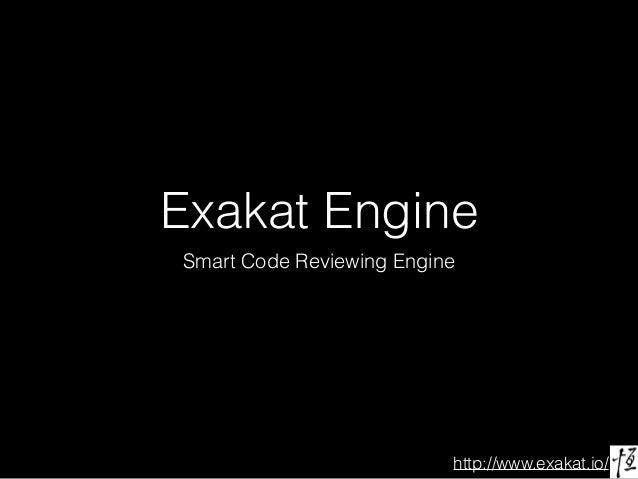 http://www.exakat.io/ Exakat Engine Smart Code Reviewing Engine