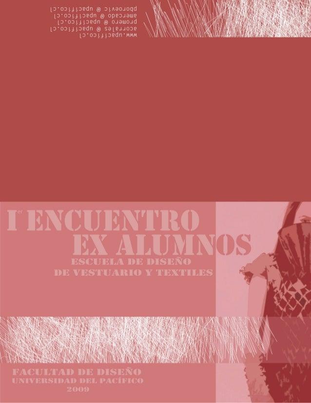 Compilado ex alumnas - Diseño de Vestuario y Textiles