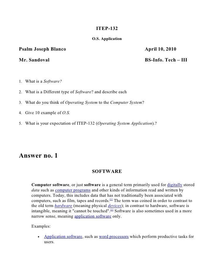 ITEP-132                                        O.S. Application  Psalm Joseph Blanco                                     ...
