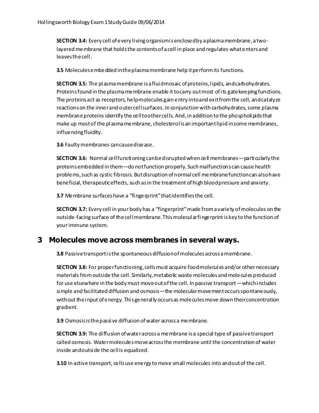 exam 1 study guide 9 06 2014 rh slideshare net chapter 5.5 multicellular life study guide multicellular life study guide 5.5 answer key