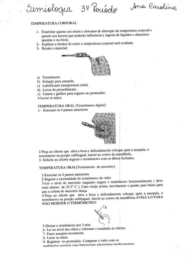 Exame clinico   dados vitais