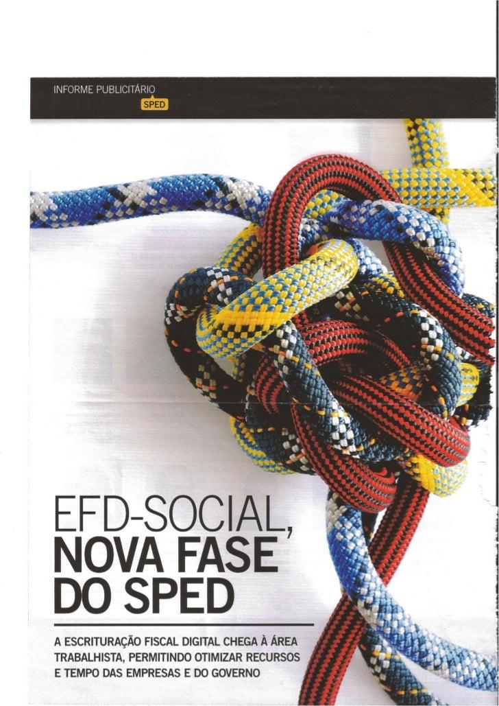 Especial EFD Social – Revista EXAME – setembro 2012