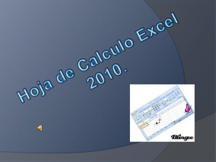 *Microsoft Excel*Historia*¿Qué es una hoja decálculo?*¿Para qué sirve una hojade cálculo?                            Escue...