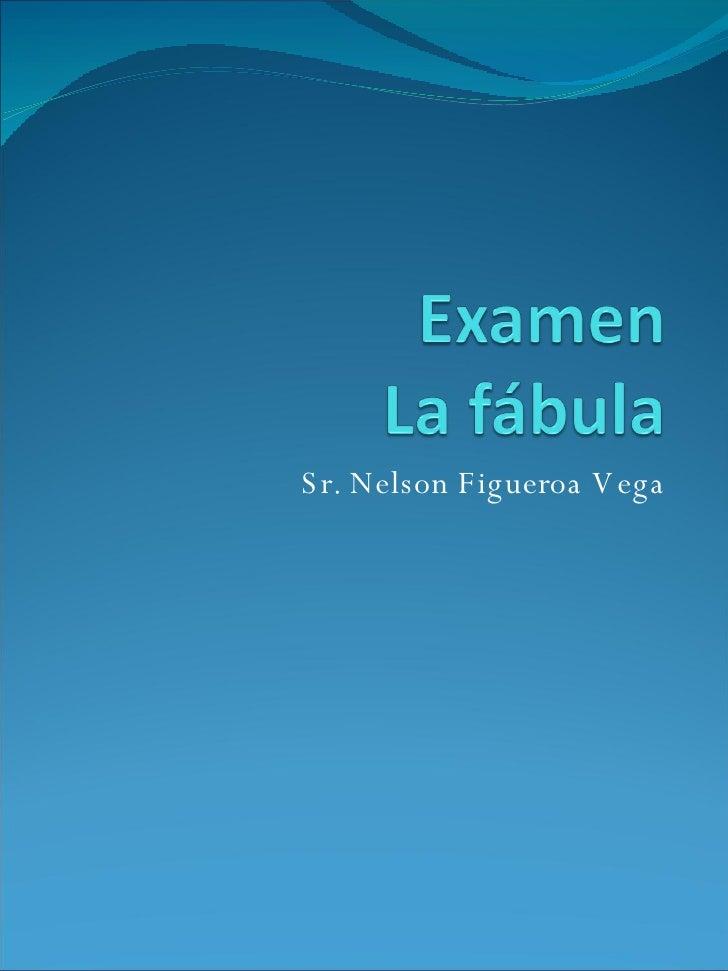 Sr. Nelson Figueroa Vega