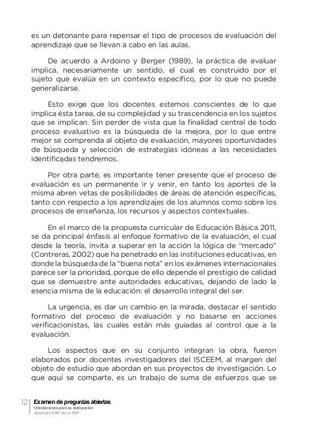15 1 Referente histórico Elizabeth Camacho Macedo Docente-Investigadora del ISCEEM 1.1. El examen El tema del examen es de...