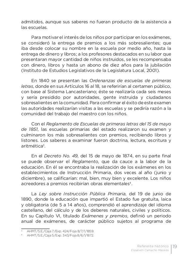 22 Examen de preguntas abiertas Orientaciones para su elaboración Acuerdo 696 de la SEP nombre del niño destacado en la li...