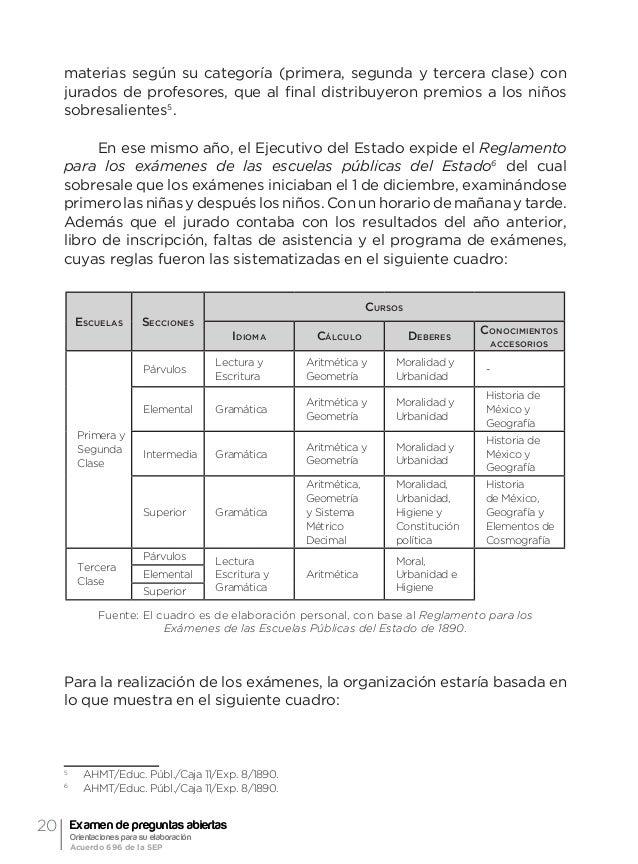 """23Referente histórico Elizabeth Camacho Macedo caracterizadas…"""" Se evaluaban en forma colectiva, en grupos entre 20 y 30 n..."""